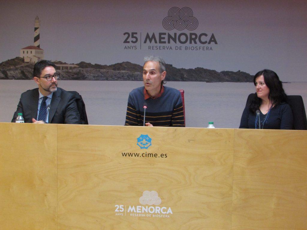 Press conference Minorca