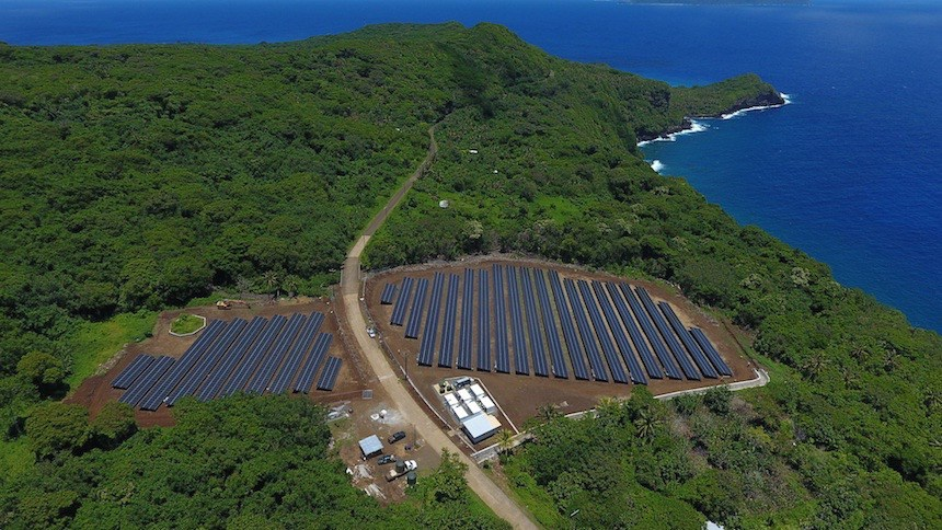 Ta'u Island now hosts a solar power and Tesla Powerpack battery storage-enabled microgrid that can supply nearly 100 percent of the island's power needs from renewable energy, providing a cost-saving alternative to diesel, removing the hazards of power intermittency and making outages a thing of the past.