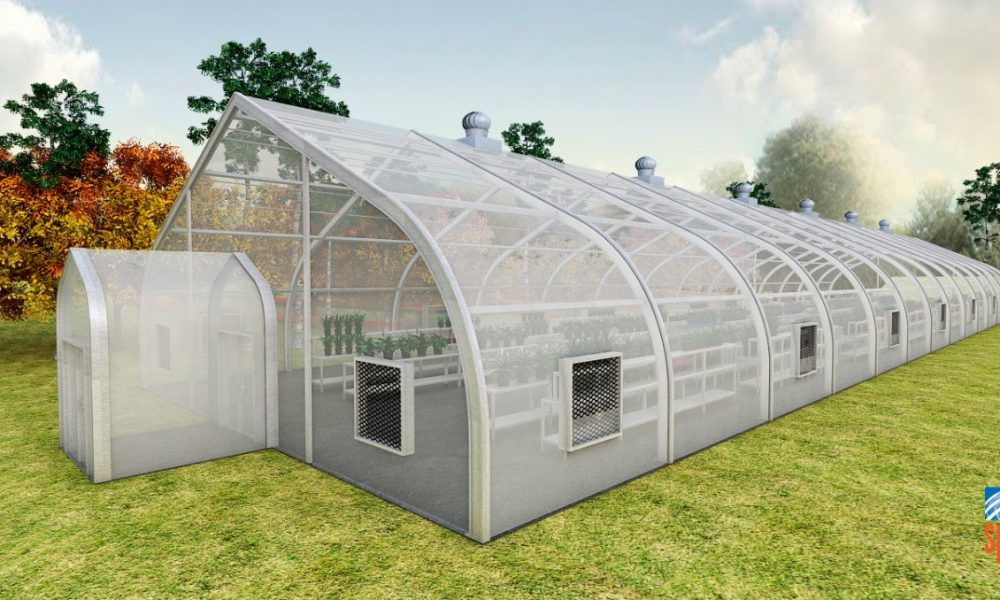 Rendering of greenhouse