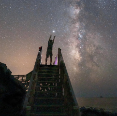 Japan island gains int'l recognition for night sky eyes tourism boom