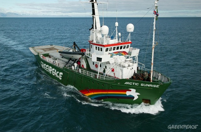The vessel -- Arctic Sunrise -- is in Port Victoria from February 27th to March 4th. (Ministry of Agriculture, Climate Change and Environment)