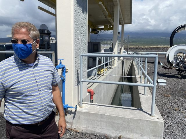 Ramzi Mansour, Hawaii County's new environmental management director, says it makes more sense to recycle water at less cost at the Kealakehe Wastewater Treatment Plant in North Kona.
